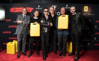 Depeche Mode выпустили часы к новому мировому туру