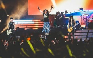 Guns N'Roses с триумфом выступили в Москве