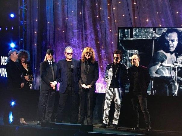 Deep Purple включили в Зал славы рок-н-ролла