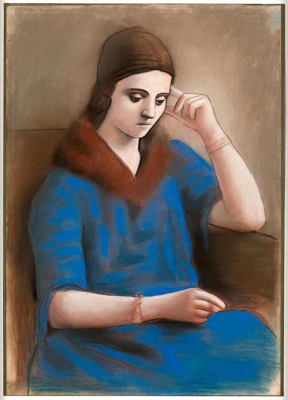 Picasso - Zadumchivaja Olga