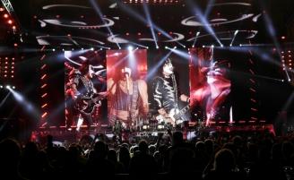 Группа KISS начала европейский тур концертом в Москве