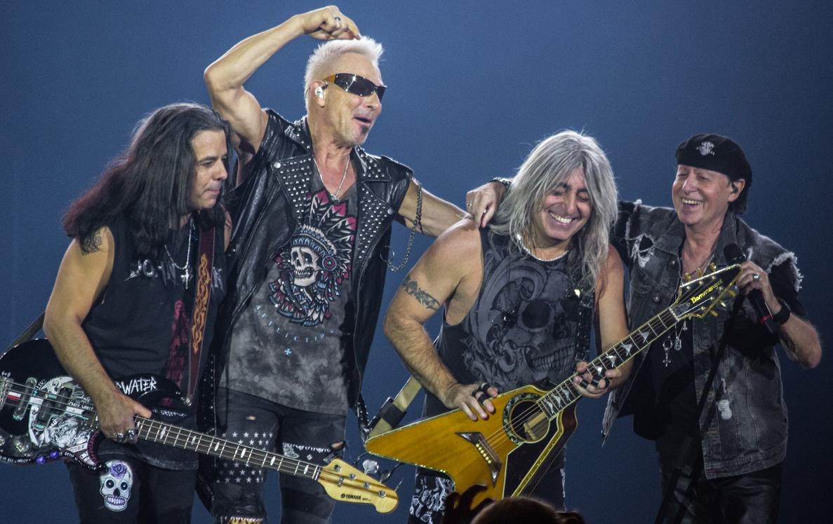 Scorpions триумфально завершили тур по России и СНГ