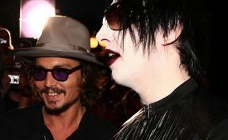 (RU) Джонни Депп может стать гитаристом Мэрилина Мэнсона