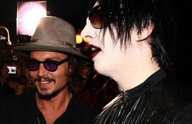 Джонни Депп может стать гитаристом Мэрилина Мэнсона