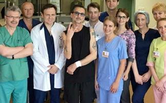 Дэйва Гаана выписали из минской больницы
