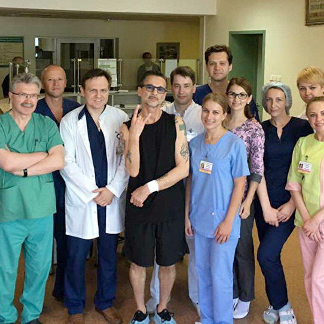 (RU) Дэйва Гаана выписали из минской больницы