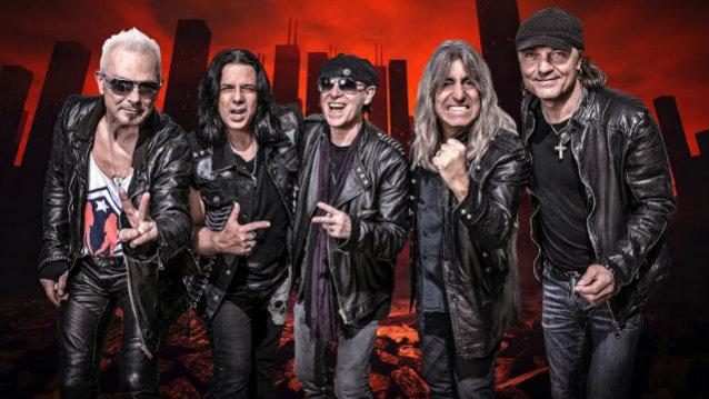 Scorpions выступили в Петербурге